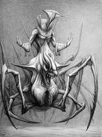 Arachnid-centaur by Layrensij
