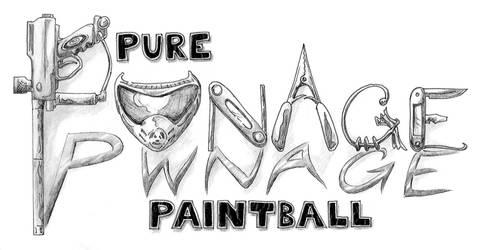 Pwnage Paintball Logo by JGroeling