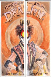 Dralion Tickets by JGroeling