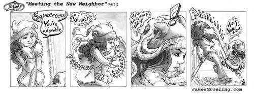 Meeting the New Neighbor part 2. JDGAF 2 by JGroeling