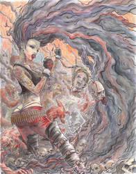 Metal Goddess by JGroeling