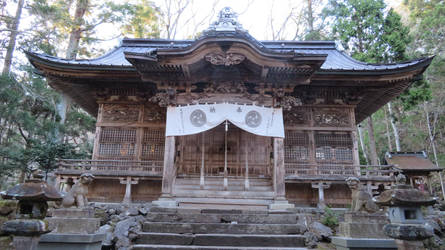 Shrine in Japan by anjicle