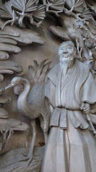 Carving Details of Japanese Shrine by anjicle