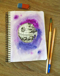 Death Star by RitaMaskros