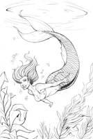 Mermaid by JVAvila10