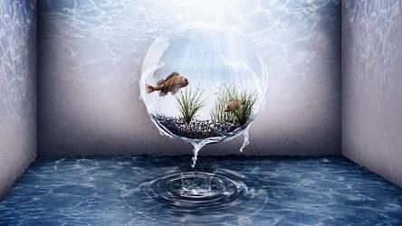 Water Sphere Manipulation by CryoGfx