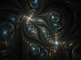 Emerald Gem Fractal by CryoGfx