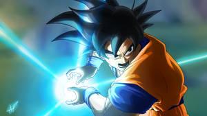 Goku // Kamehameha by Scorch-Art