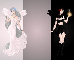 Isen and Seraphina by PrincessVampireKitty