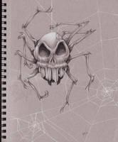 Skulltula in Grey by CaptainNutmeg