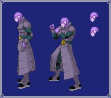 Hit (Concept Art) | Dragon Ball Z: Extreme Butoden by MPadillaTheSpriter