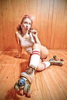 Roller Girl by darkctyle