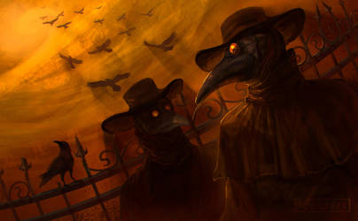 Plague doctor by DGrayfox
