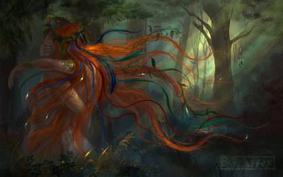 Witch by DGrayfox