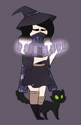 witchsona by julessmeels