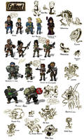 Fallout Chibi by ShroomArts