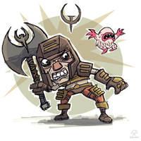 Quake 1 Ranger by ShroomArts