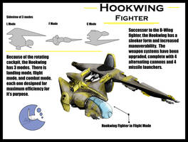 Hookwing Fighter by Sathiest-Emperor