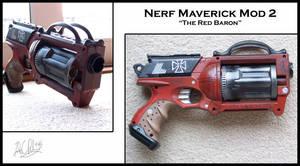 Nerf Maverick Mod 2 by Sathiest-Emperor