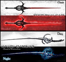 Sword Designs: Slayers of the Darkness by Sathiest-Emperor