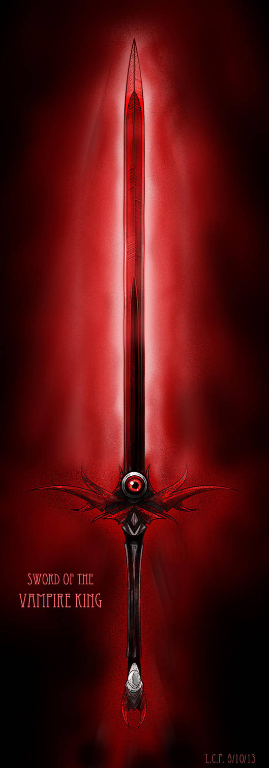 Weapon Design: Sword of the Vampire King by Sathiest-Emperor