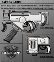 Weapon Designs: Laeros Arms by Sathiest-Emperor