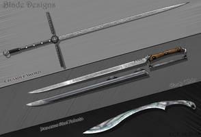 Basic Sword Designs by Sathiest-Emperor