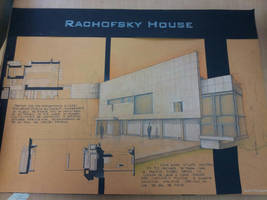 1of4 - Rachofsky House - College Project by cristianfrunza93
