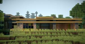 Minecraft Modern Survival House by andrewvtw