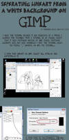 TUTORIAL: Lineart on GIMP by rimirinchan