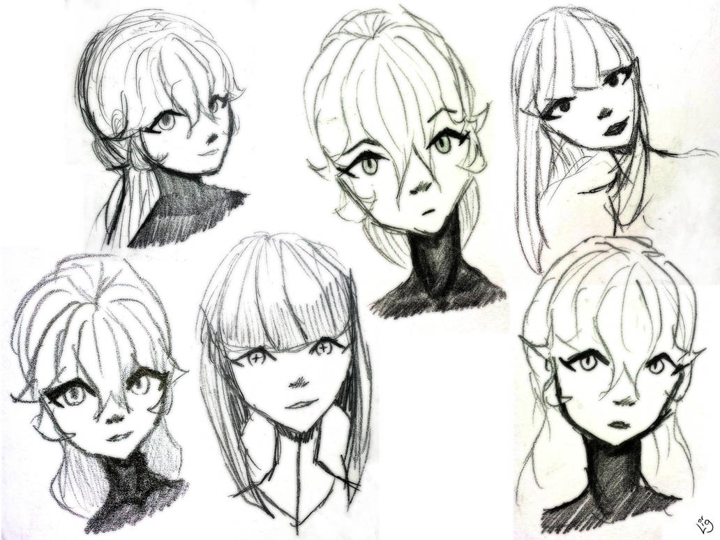 Sketchs by Static-117
