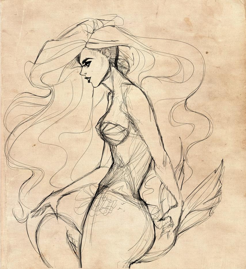 Ariel | diekleinemeerjungfrau by ArbiesArt