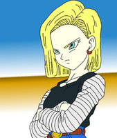 Android 18 by BubbaZ85