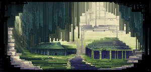 Jungle Landmark Concept Art by SylviaRitter