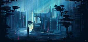 Fallen City by SylviaRitter