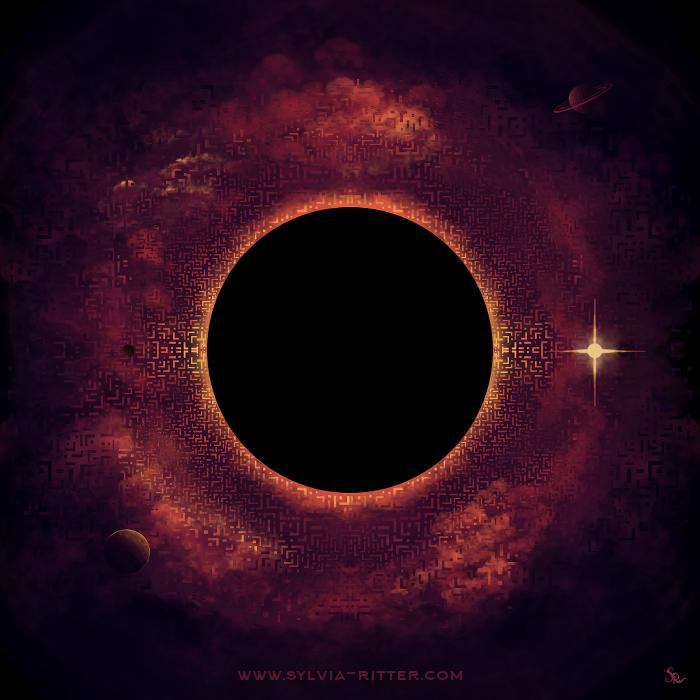 Sci-fi Album Art 2 by SylviaRitter