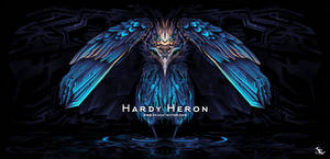 Hardy Heron by SylviaRitter