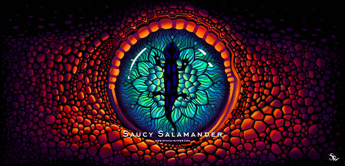 Saucy Salamander, Wallpaper (1920x928px) by SylviaRitter