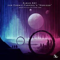 Album Art for Cosmic Carpool's Horizon by SylviaRitter