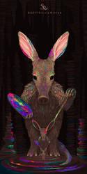 Artful Aardvark by SylviaRitter