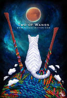 Two of Wands by SylviaRitter