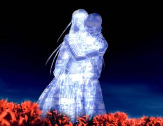 Frozen Lover's Embrace by TsukasaHio