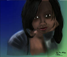 lara portrait by evin279