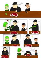 vegetarien VS carnivor by evin279