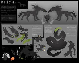 Finch Reference Sheet by Dusty-Demon
