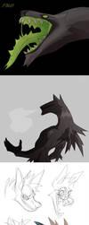 Sketch Dump no.29 by Dusty-Demon