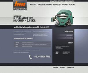 Metalbending Machines - Layout by medienvirus