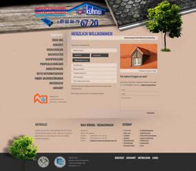 Slater Website by medienvirus
