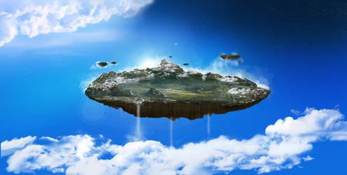 Floating Island by medienvirus