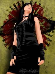 666kira the goth gal by alekhoy86